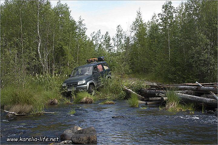 в карелию дикарем на машине на рыбалку